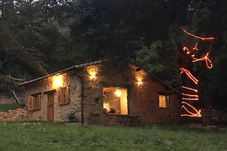 Cozy Isolated Mountain cabin-loft - Oriente de Asturias