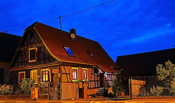 Ferme Bleue in Schleithal/Elsass