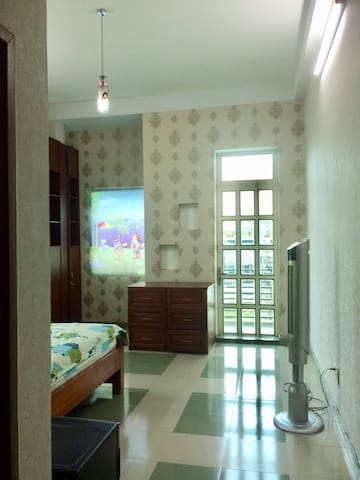 Private balcony room in Phu Nhuan district