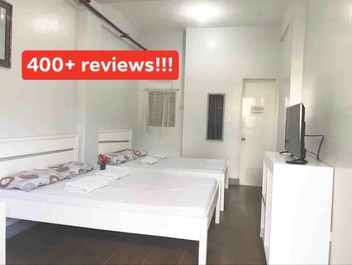 Bermudez Rooms: 2 rooms, 4min ride to Crisologo
