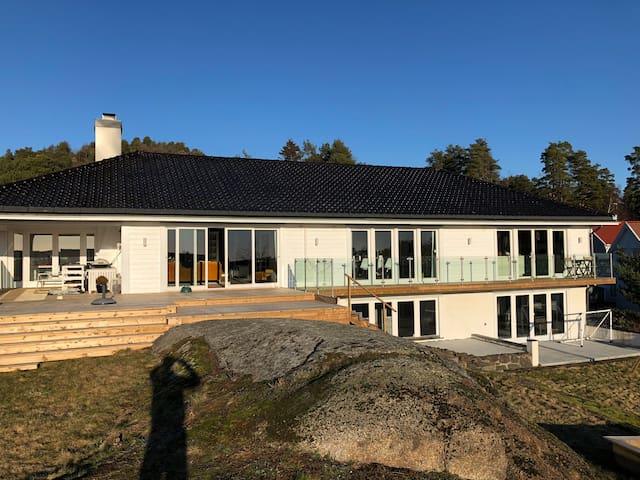 Sommeridyll ved vannet på Nøtterøy!