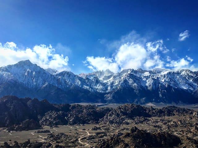 Eastern Sierra Views