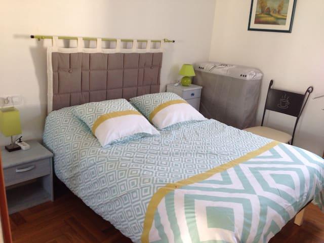 Chambre privée hendaye ville - Hendaye - Apartamento