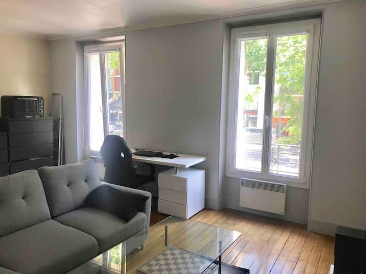 Functional apartment near Roland Garros