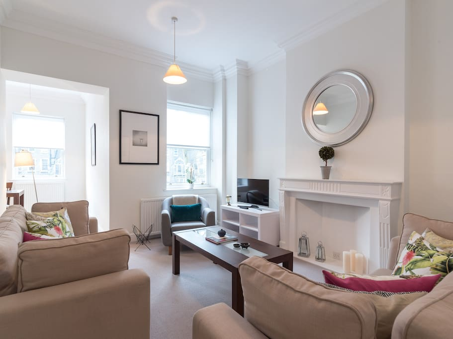 My property has everything you need; a stylish living space...