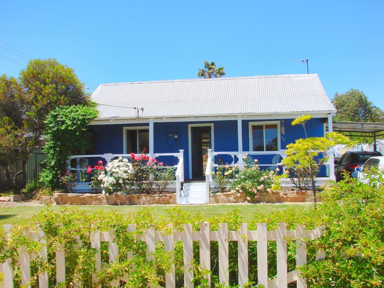 Boddington Retreat front of the house