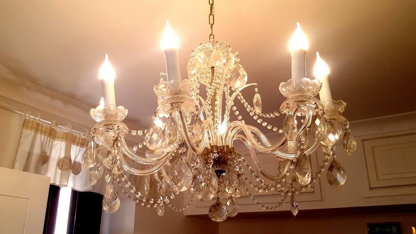 Particolare lampadario