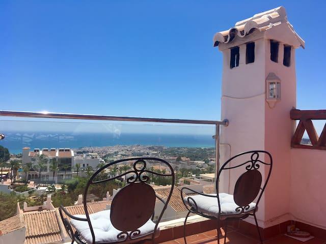Casa Marisol -San Juan de Capistrano- Nerja- View!