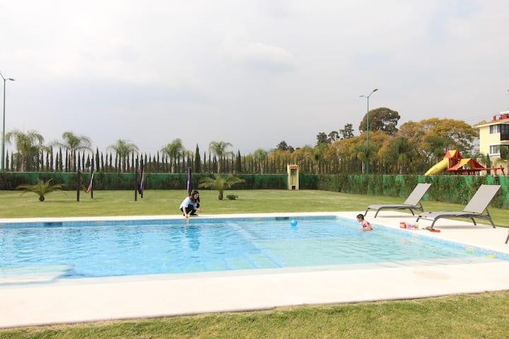 Quinta Elena II - Rancho y casa El Eden en Atlixco