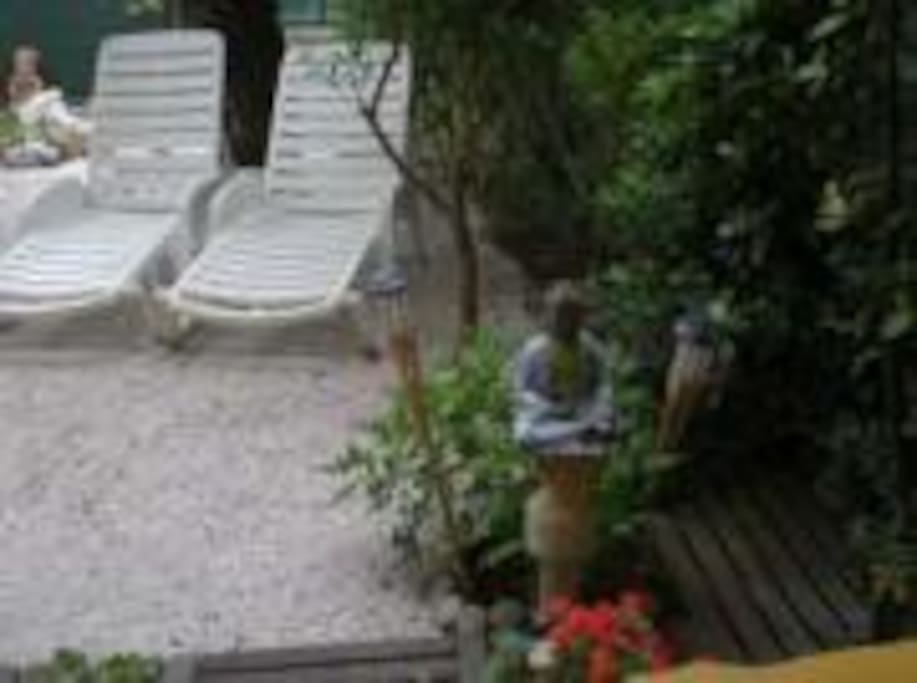 jardin calme