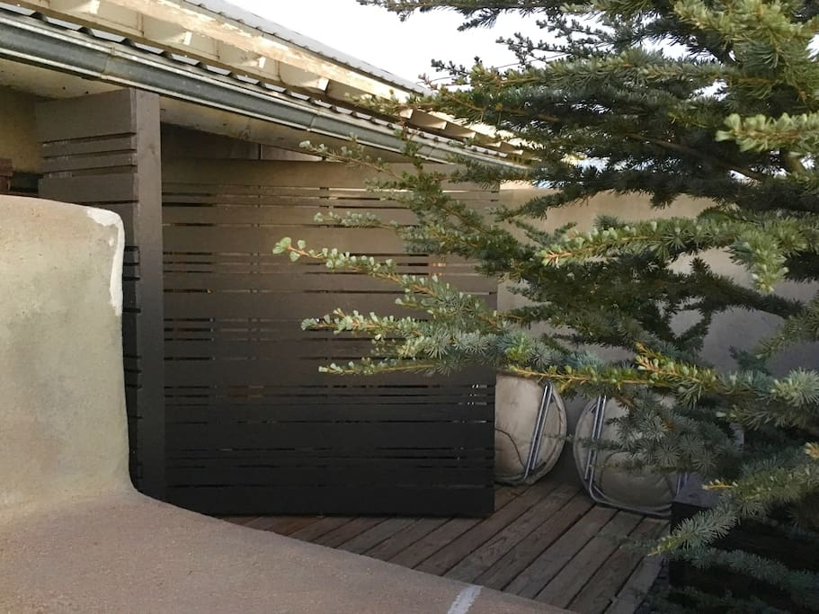 Small Courtyard with doors