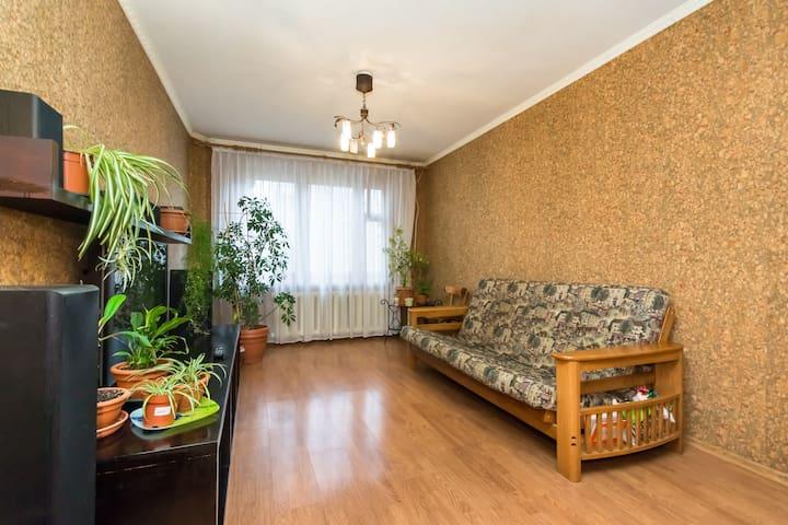 2-комнатная квартира  метро Яшьлек - 喀山 - 公寓