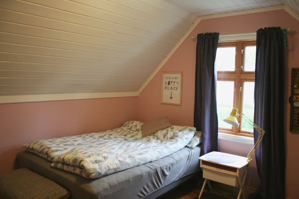 Lovely bedroom with a comfy double bed.