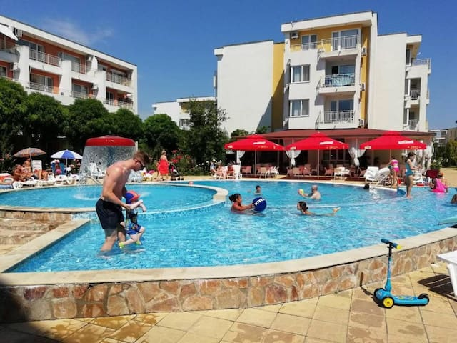Private two bedroom apartment in Nesebar Fort Club