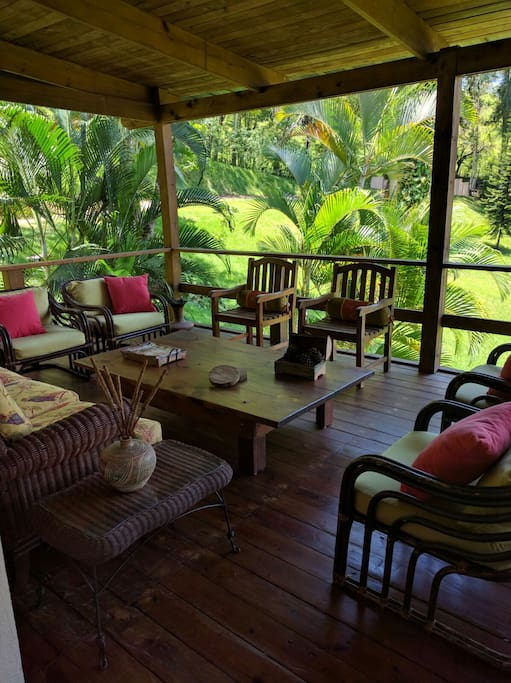 Tranquila y acogedora villa en jarabacoa houses for rent for Villas en jarabacoa