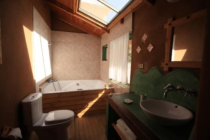Habitación Superior baño privado con hidromasaje