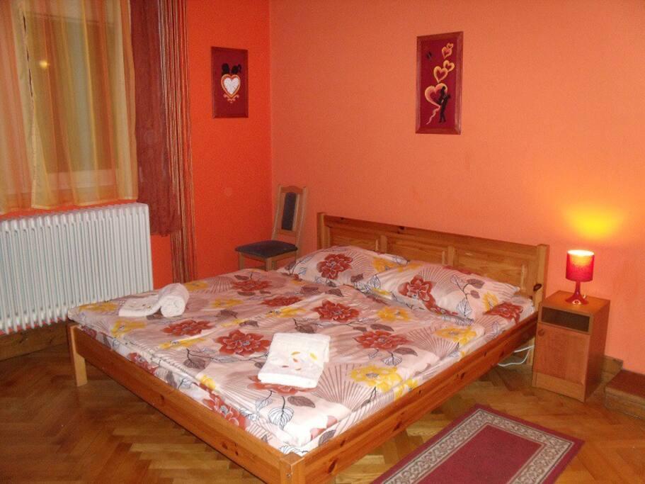 Studió apartman - Hálószoba