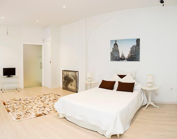 Modern flat in Madrid center city