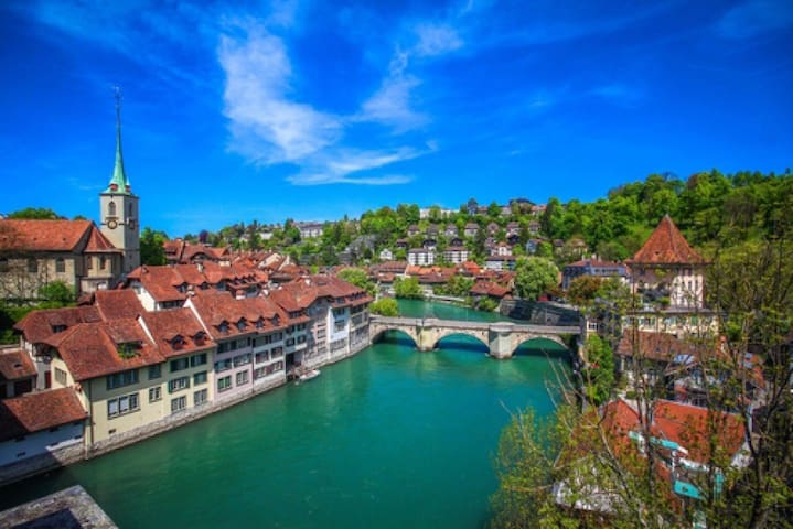 Gemütliche Attika im Herzen von Bern