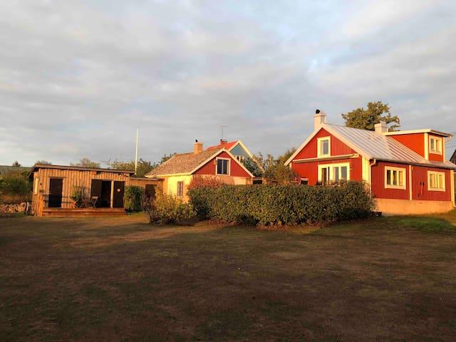 Öppna landskap i världsarv på Sydöstra Öland.