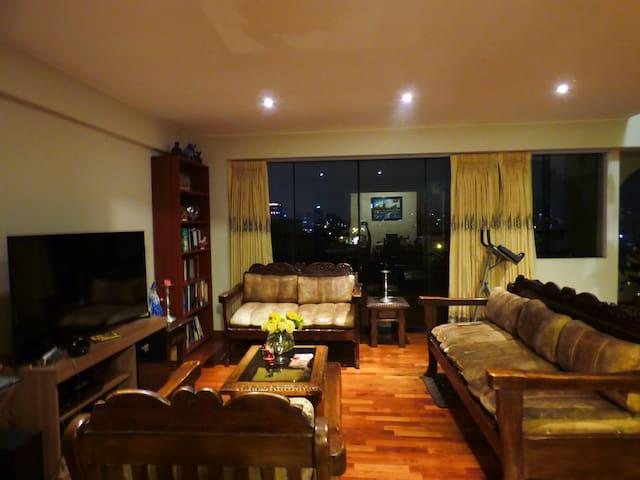 Habitación cómoda y acogedora