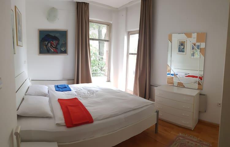 King Size Bedroom in the center of Skopje