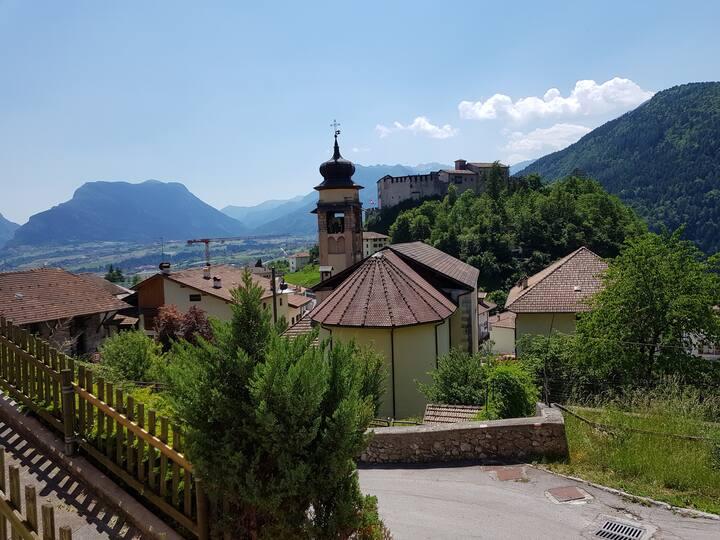 Casa con Vista sul Castello