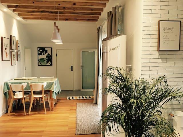 天目湖畔田园适居 (温暖阳光房+凉爽露台)