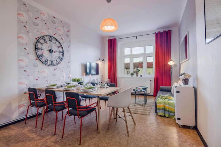 APT with sunny garden Prague B3 by Michal&Friends