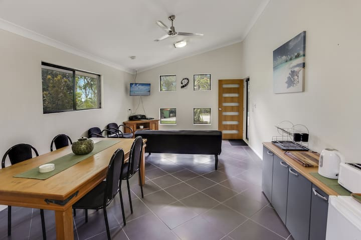 Villa 1 - Hideaway, bushland private studio - Tanawha - Casa