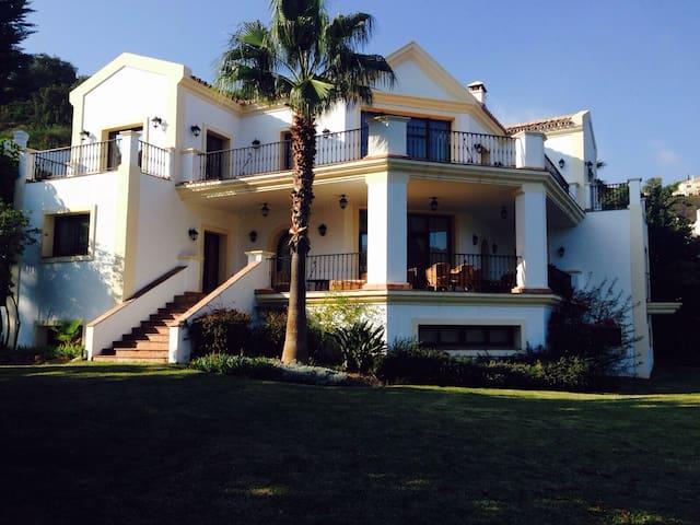 Luxury mountain private villa - Benahavís - Hus