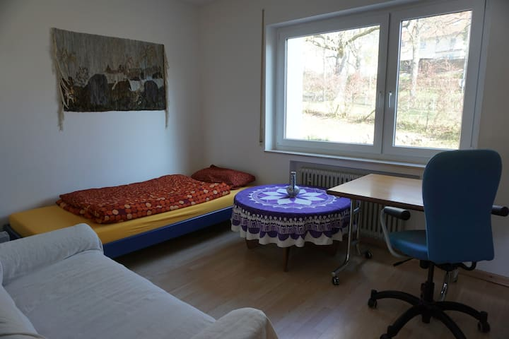 Lovely room and a balcony with a view - Freudenstadt - Apartemen