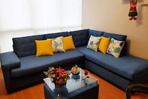 Lindos muebles para una sala comoda y practica..