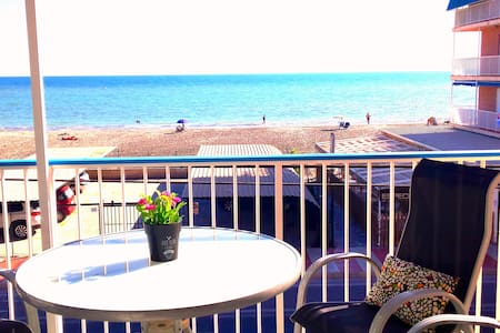fantastic terrace with ocean view. - Santa Pola