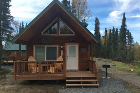 Alaska Kenai River Fishing Cabin # 1 Bear Cabin - Soldotna