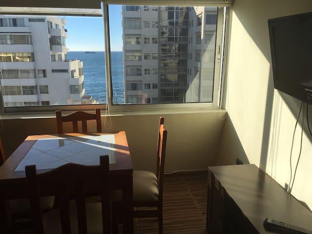 Hermoso Departamento Vista Al Mar, Playas, Casino