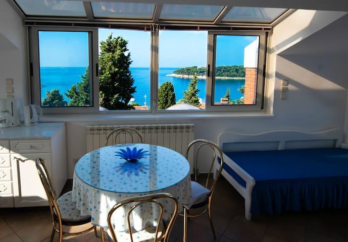 Villa Moira-30 m from the sea ap.2