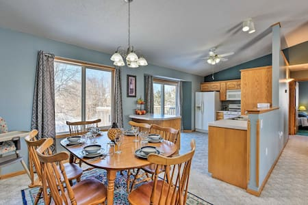 NEW! Year-Round Midwest Getaway ~4 Mi to St. Cloud