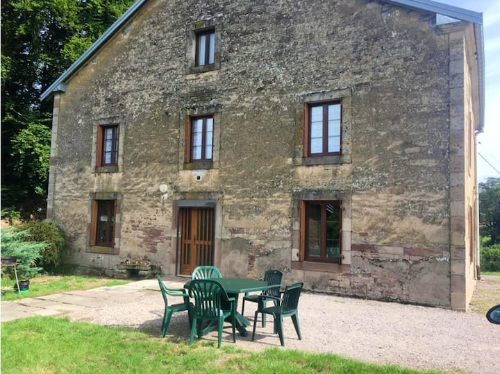 House with 3 bedrooms in Fougerolles-Saint-Valbert, with furnished garden