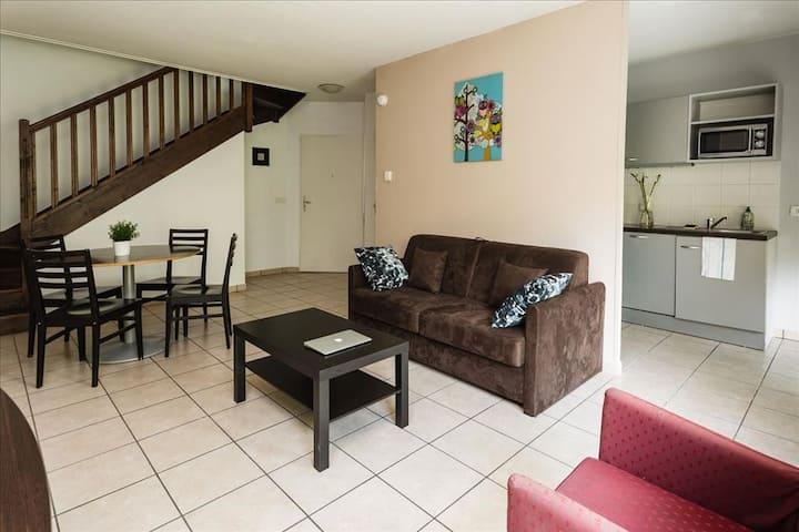 Appartement avec 3 chambres pour 8 personnes