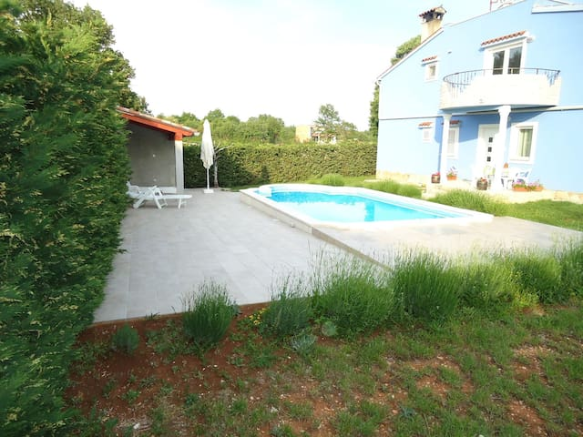 Apartments Rampini / One Bedroom Pool View - Svetvincenat - Byt