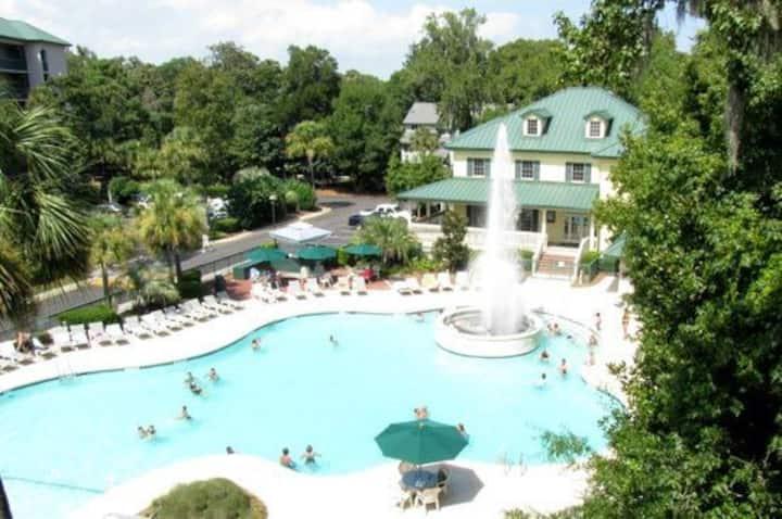 Hilton Head Award Winning 3 bdrm/3ba Condo Resort