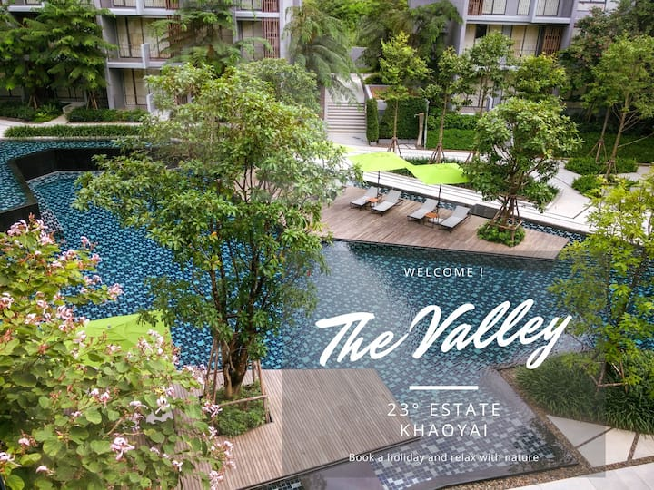"""The Valley"" Private & Cosy @ 23° Estate Khaoyai"