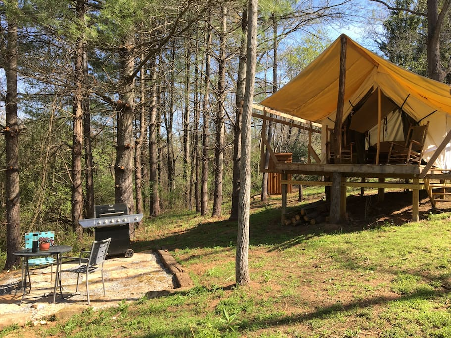 The Haven, your own private Glamping spot