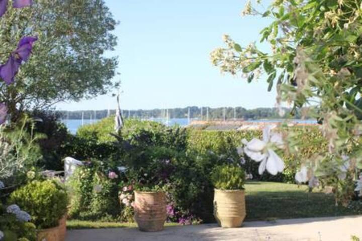 Villa avec vue 14 personnes Port Blanc, baden (56)