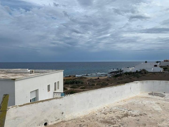 Airbetter - Beachfront 4bedroom Duplex in Kelibia