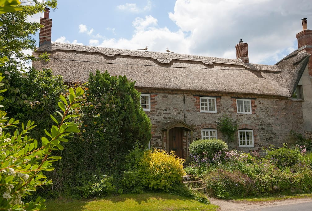 Odd Nod is one of a small group of picturesque thatched cottages