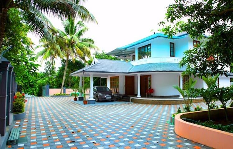 Elegant River Front Villa Near Airport Cochin