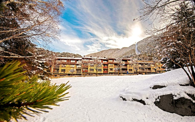 Apartment 15 minutes from Andorra shopping center