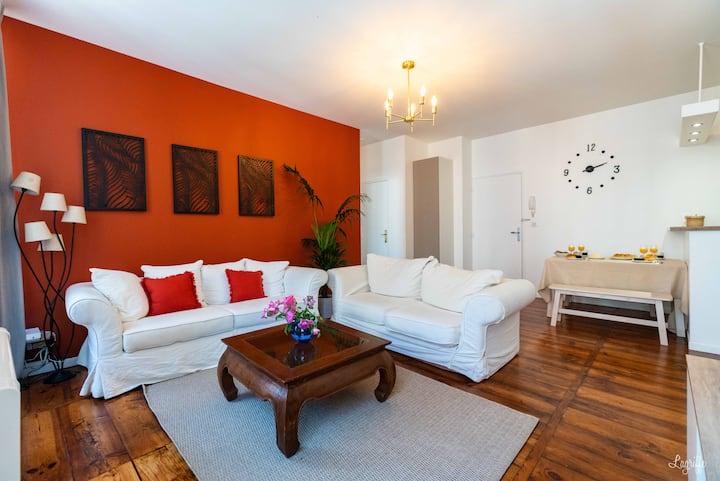 Appartement T3 de charme idéalement situé au centre de Bayonne